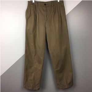Nautica 32x32 Rigger Classic Fit Chino Pants Pleat